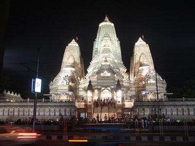 Temple near park circus